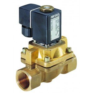 BURKERT TYPE 406 - SOLENOID VALVE FOR STEAM AND MEDIA AT HIGH TEMPERATURE