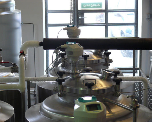 Brewery Level control to EHEDG hygienic standards