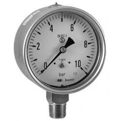 BOURDON MEP5-MMN5 - SAFETY INDUSTRIAL PRESSURE GAUGE
