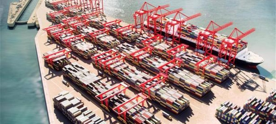 Spectacular Engineering provided by Peel Ports Liverpool2 Projec