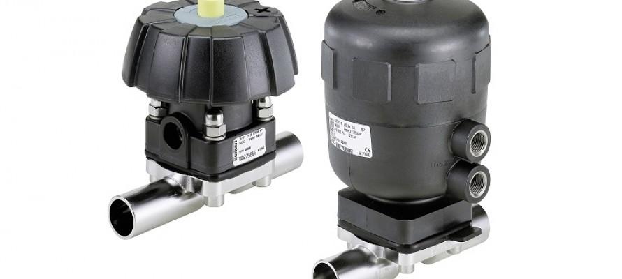 Bürkert's latest hygienic diaphragm valve