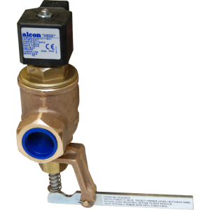 ALCON FACHL SERIES - MANUAL RESET SOLENOID VALVE