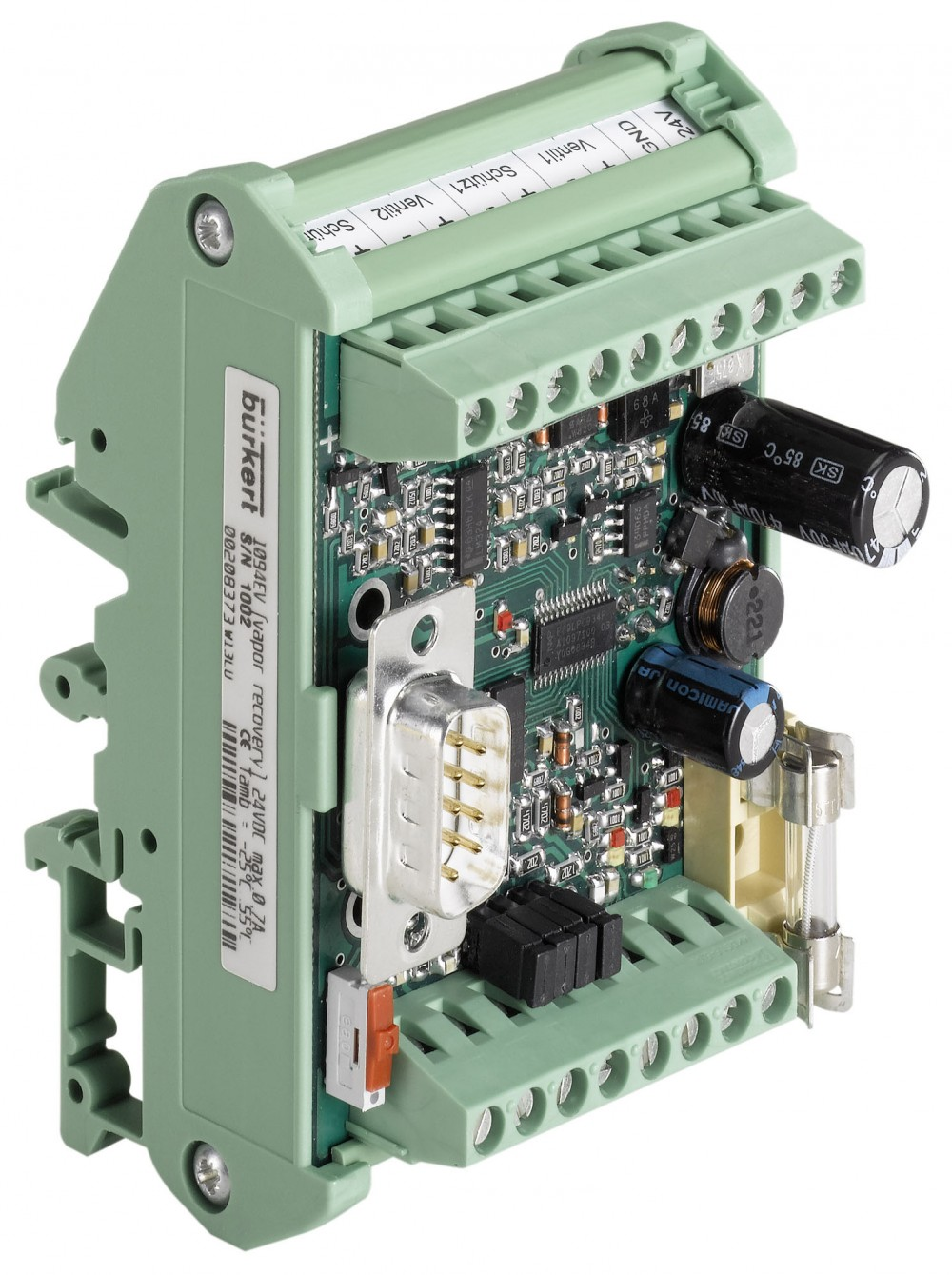 BURKERT TYPE 1094 - ELECTRONIC CONTROLLER FOR VAPOUR RECOVERY