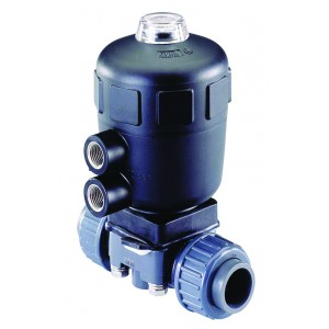 BURKERT TYPE 2030 - 2/2 WAY PLASTIC BODIED DIAPHRAGM VALVE