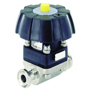 BURKERT TYPE 3233 - DIAPHRAGM VALVE MANUALLY OPERATED