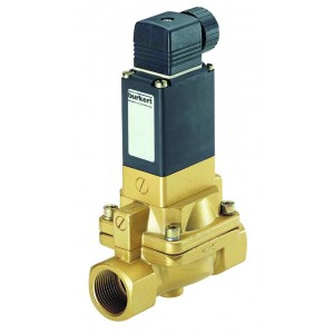 BURKERT TYPE 5282 - 2/2  BRASS or STAINLESS STEEL SOLENOID VALVE FOR SLIGHTLY CONTAMINATED FLUIDS