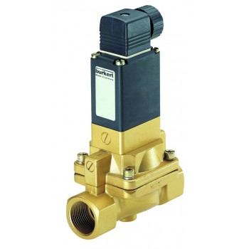 93906451 - BURKERT TYPE 5282 - 2/2  BRASS or STAINLESS STEEL SOLENOID VALVE FOR SLIGHTLY CONTAMINATED FLUIDS
