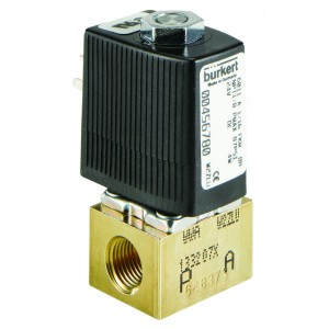 BURKERT TYPE 6011 - 2/2 WAY MINIATURE SOLENOID VALVE