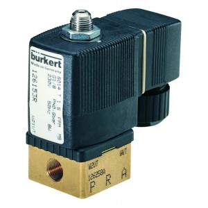 BURKERT TYPE 6014 - 3/2 WAY SOLENOID VALVE