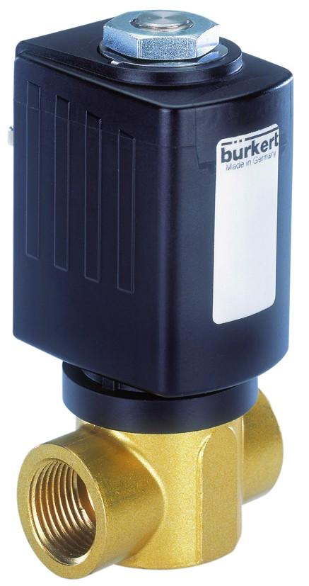 BURKERT TYPE 6027 - 2/2 WAY COMPACT SOLENOID VALVE