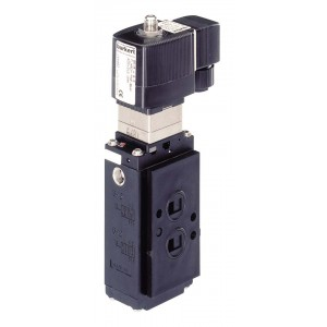 BURKERT TYPE 6518/6519 NAMUR INTRINSICALLY SAFE - DIRECT MOUNT HAZARDOUS AREA SOLENOID VALVE
