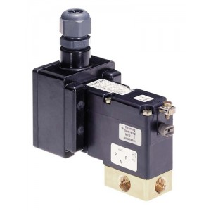 BURKERT TYPE 780 EEx ed - 3/2 WAY HAZARDOUS AREA SOLENOID VALVE