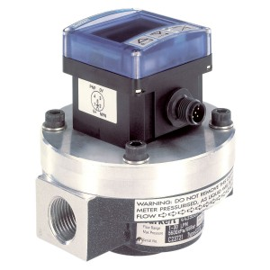 BURKERT TYPE 8072 - POSITIVE DISPLACEMENT FLOW SENSOR/SWITCH