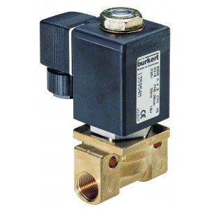 BURKERT TYPE 255 - 2/2 WAY SOLENOID VALVE