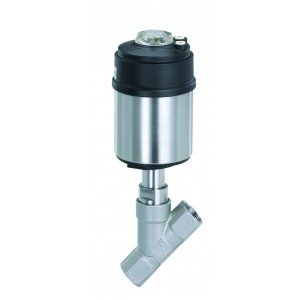 BURKERT TYPE 2100 - ANGLE SEAT CONTROL VALVE WITH ON/OFF CONTROL