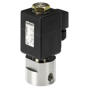 BURKERT TYPE 2200 - 2/2 WAY HIGH PRESSURE SOLENOID VALVE