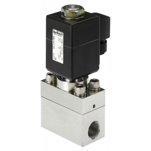 BURKERT TYPE 2400 - 2/2 WAY SERVO-ASSISTED SOLENOID VALVE