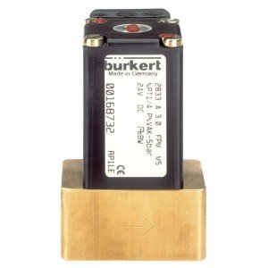 BURKERT TYPE 2833 - GENERAL PURPOSE PROPORTIONAL SOLENOID CONTROL VALVE