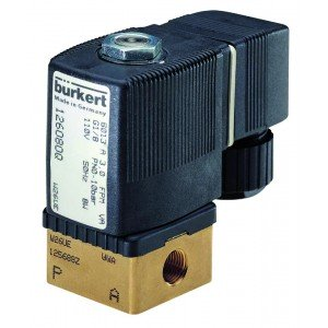 BURKERT TYPE 6013 - 2/2 WAY SOLENOID VALVE NORMALLY CLOSED