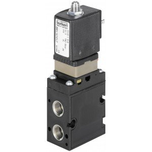 BURKERT TYPE 6518/6519 EEx ia INTRINSICALLY SAFE - 3/2 & 5/2 WAY HAZARDOUS AREA SOLENOID VALVE