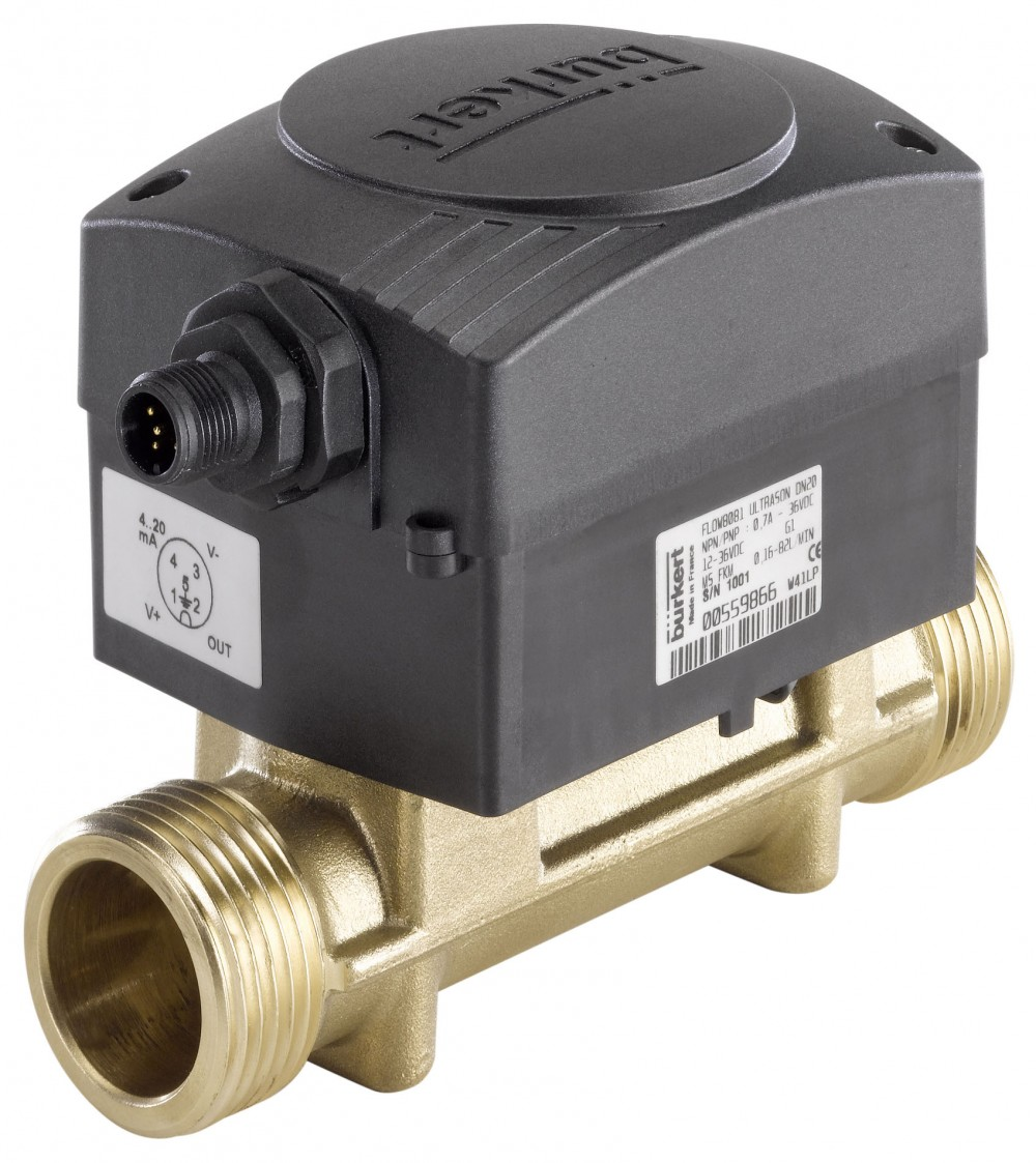 BURKERT TYPE 8081 - ULTRASONIC FLOW TRANSMITTER