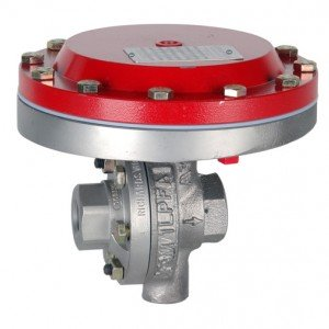 JORDAN VALVE MK 56 - AIR LOADED BACK PRESSURE REGULATOR