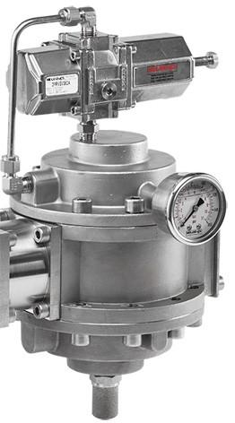 MIDLAND ACS MODEL 3575 - STAINLESS STEEL PRESSURE REGULATOR