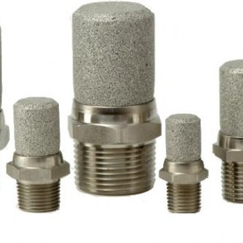 MIDLAND ACS MODEL 4500 - STAINLESS STEEL SILENCERS AND BREATHER