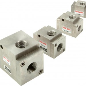 MIDLAND ACS MODEL 4500 - STAINLESS STEEL QUICK EXHAUST VALVE