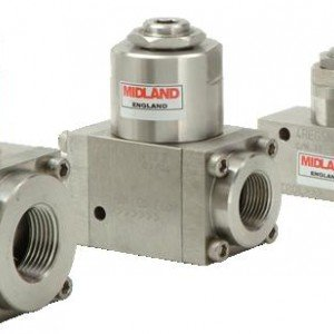 MIDLAND ACS MODEL 4500 - STAINLESS STEEL FLOW REGULATOR