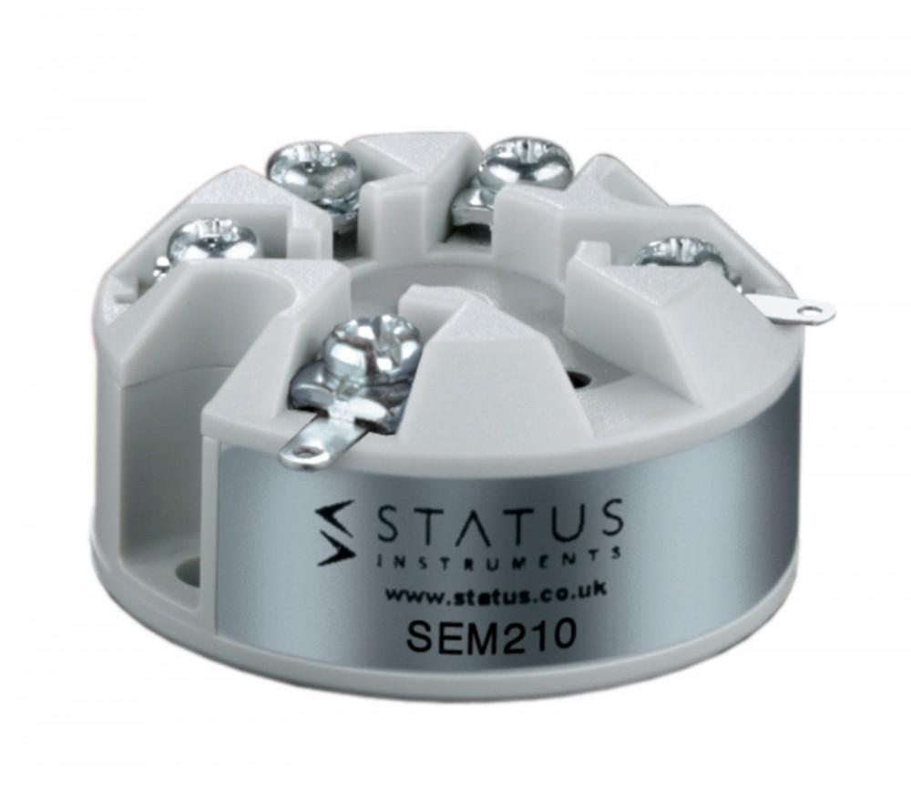 STATUS INSTRUMENTS SEM210 - SMART UNVIERSAL TEMPERATURE TRANSMITTER