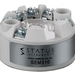 STATUS INSTRUMENTS SEM310 - SMART UNIVERSAL IN HEAD TEMPERATURE TRANSMITTER