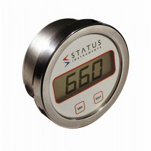 STATUS INSTRUMENTS DM660 - BATTERY POWERED THERMOMETER