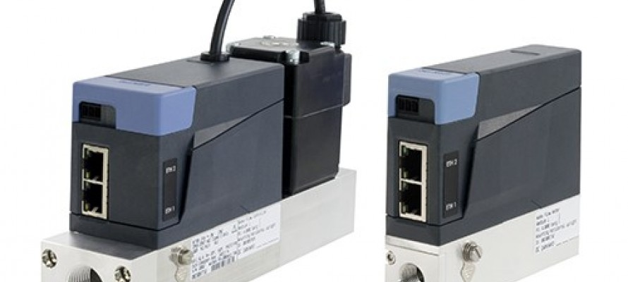 Burkert Mass flow controllers and meters for Ethernet protocols
