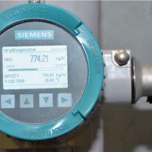 Flow measurement in denaturing of alcohol
