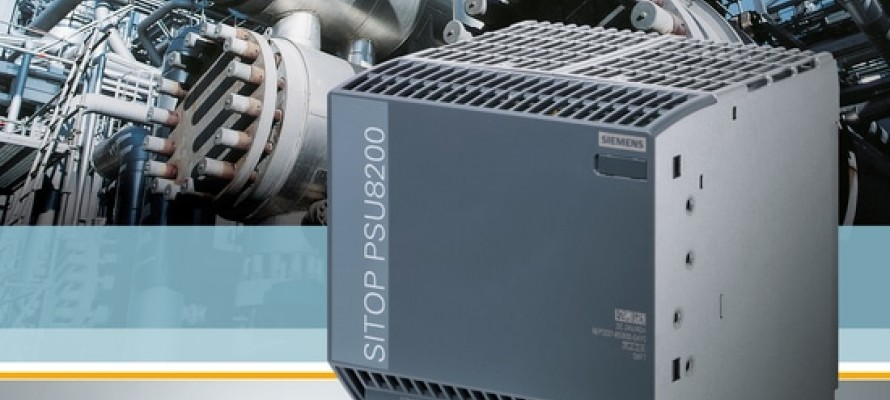 Siemens Add SU8200 Compact Power Supply to SITOP Range
