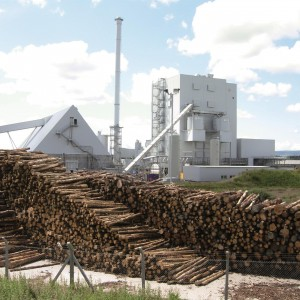 Generating power from wood waste with solid process automation